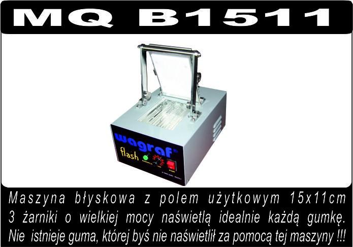 Maszyna MQ B1511